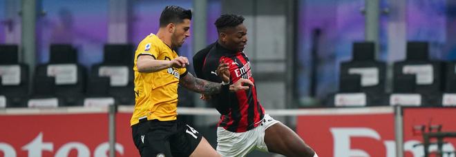 Milan-Udinese, diretta dalle 20.45. Le probabili formazioni: Leao al posto di Ibra