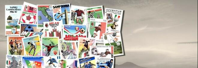 A Napoli la mostra dedicata ai francobolli del calcio