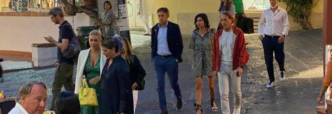 Capri, sbarca a sorpresa il ct della Nazionale Mancini