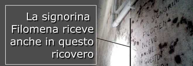 Napoli, la scoperta | Nel rifugio di guerra l'alcova della prostituta. «Riceveva» i clienti sotto le bombe