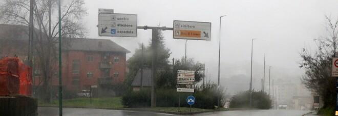 Maltempo in Campania, allerta meteo prorogata fino a domenica sera