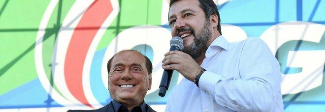 Centrodestra, Salvini chiede a Draghi di benedire la federazione. E Berlusconi: link col Ppe