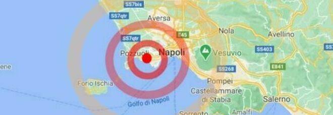 Terremoto a Napoli, altre scosse a Pozzuoli: gente in strada nella notte