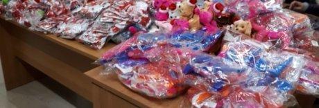 Natale sicuro, sequestrati a Napoli oltre 10mila giocattoli