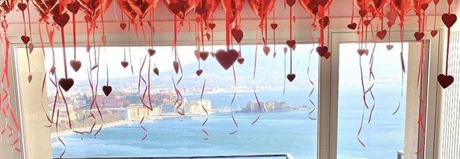 Napoli, Hysaj chef di San Valentino: Petagna e Caroline, l'amore a distanza