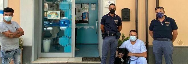 Labrador ha crisi epilettica, salvato dalla polizia nel Sannio