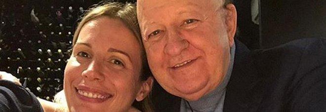 Massimo Boldi e Irene Fornaciari (Instagram)