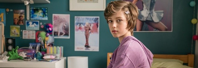 "Callum Booth- Ford, 11 anni, in ""Butterfly"""
