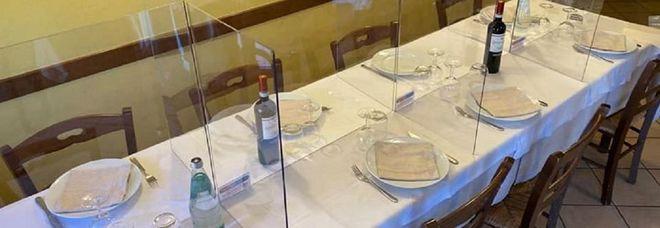 Coronavirus, l'idea per la fase 2 dei ristoranti: plexiglass che dividono i clienti ai tavoli