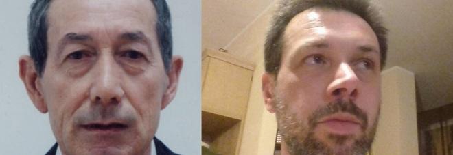 Nino Frisiero (la vittima) e il figlio Carlo, che si è accusato dell'omicidio