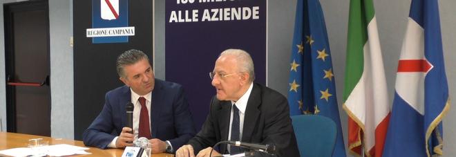 Vincenzo De Luca e Franco Alfieri