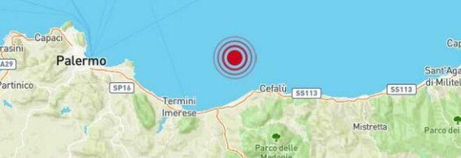 Terremoto al largo di Cefalù di 4.3: paura tra i turisti (anche a Palermo), ma nessun danno