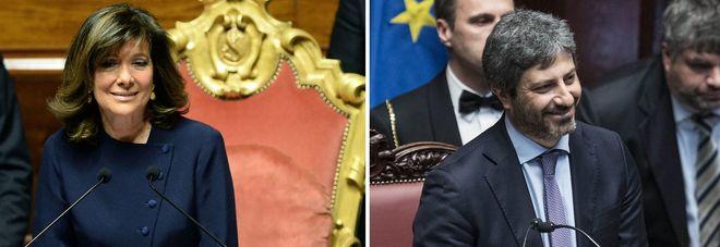 Intesa tra centrodestra e m5s fico eletto presidente for Differenza tra camera e senato