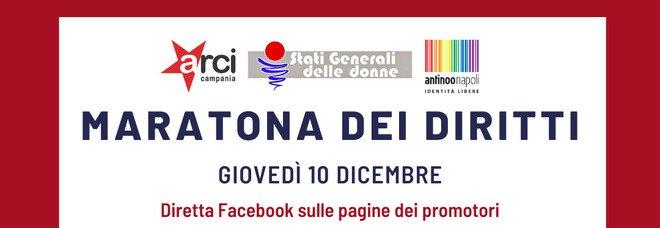 Fico, Bonetti e Luciana Castellina alla Maratona dei diritti oggi sul web
