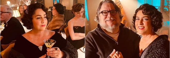 Romina Power irriconoscibile sul set del nuovo film di Guillermo Del Toro: look anni '20