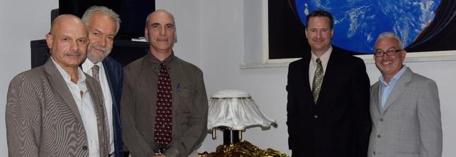 Delegazione della Nasa in visita a Napoli Est per il progetto Irene