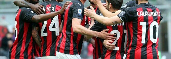 Milan-Genoa 2-1 anche senza Ibra: decide un'autorete di Scamacca
