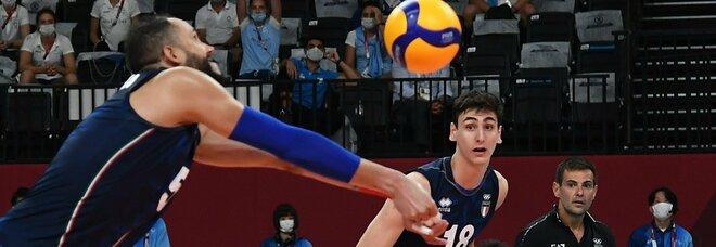 Italia-Argentina di pallavolo dalle 10: Zaytsev e compagni vogliono la semifinale