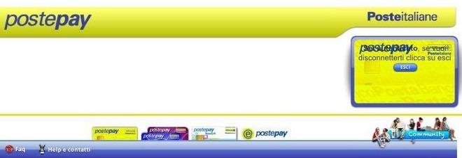 Postepay, occhio al sito clone che ruba dati e identità: l'annuncio della polizia