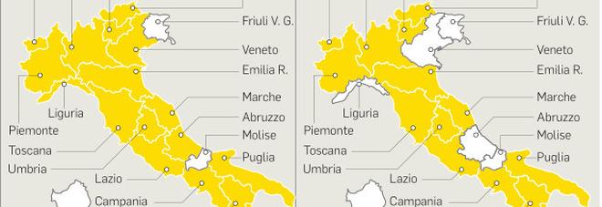 Nuovo decreto, l'Italia verso la normalità, coprifuoco dalle 23 da domani, zona bianca in sei regioni