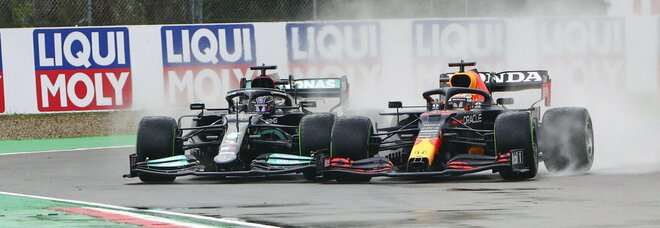 Gp Imola, Verstappen vince la gara davanti a Hamilton: Leclerc è quarto