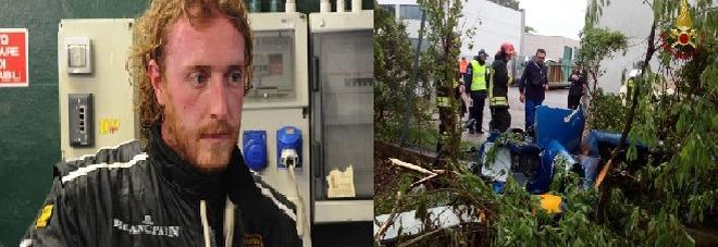 Sull'elicottero per salutare un amico, manager 37enne precipita e muore nel Mantovano