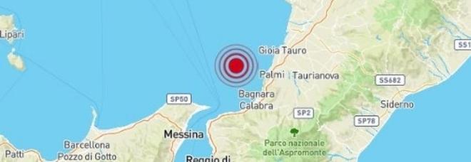 Terremoto in mare nel sud Tirreno, paura a Reggio Calabria e Messina