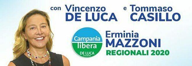 Regionali Campania 2020, De Luca live con i candidati Mazzoni e Casillo
