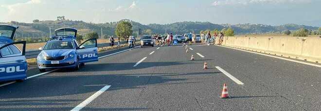 Poliziotto investito in autostrada, il messaggio dei colleghi: «Forza Daniele non mollare!»