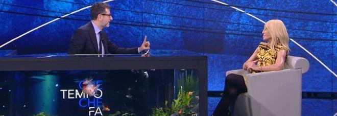 Donatella Versace a Che tempo che fa: