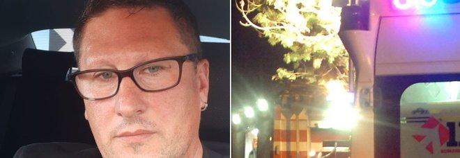 Incidente al ritorno dal lavoro, morto lo chef Lorenzo Colonna: aveva 44 anni, lascia due figlie
