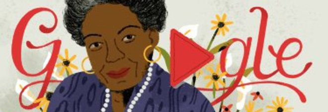 Chi era Maya Angelou, la poetessa nata 90 anni fa e celebrata da Google
