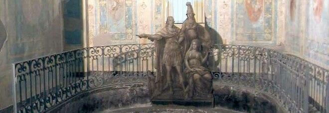 Il Bagno di Maria Carolina in balìa di muffa e umidità