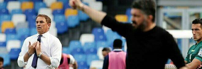 Napoli alla volata Champions, Gattuso chiede serenità