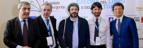 Fico al salone del libro di Napoli: «Bell'iniziativa. E che colpo Ancelotti»