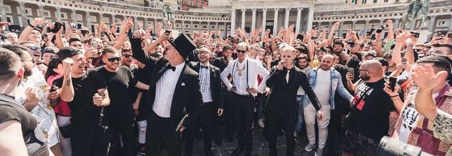 Clementino, Rocco Hunt, Achille Lauro e Boss Doms