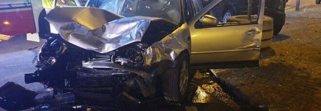 Incidente stradale a Battipaglia: nove feriti in ospedale