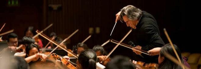 Riccardo Muti al Teatro Mercadante con la sua Orchestra Giovanile Luigi Cherubini