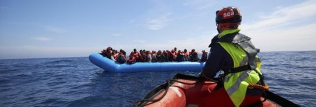 Migranti, 45 sbarcano a Lampedusa