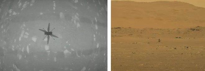Marte, Ingenuity prima foto dello storico decollo del minielicottero: diretta Nasa