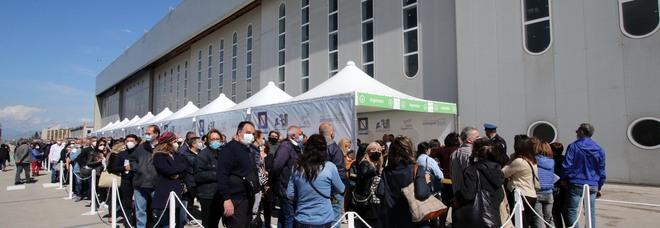 Vaccini in Campania, prima dose a quota 1.656.993 cittadini
