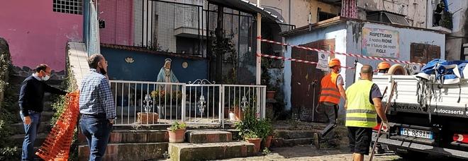 Castellammare, rimosso altarino abusivo con le foto dei giovani affiliati uccisi