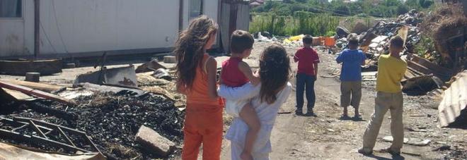 Campo rom di Scordovillo