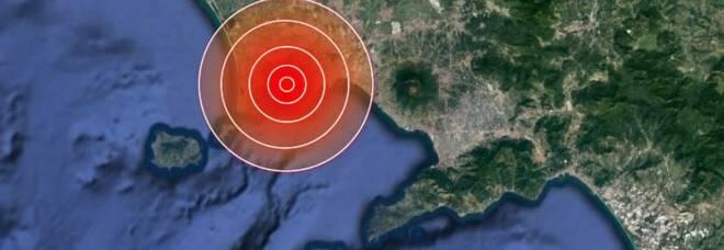 Campi Flegrei, nuova scossa: epicentro nel golfo di Pozzuoli