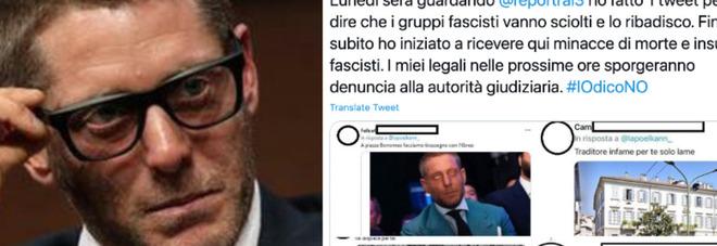 Lapo Elkann, minacce di morte dopo il tweet contro i fascisti: «Io scioglierei te nell'acido»