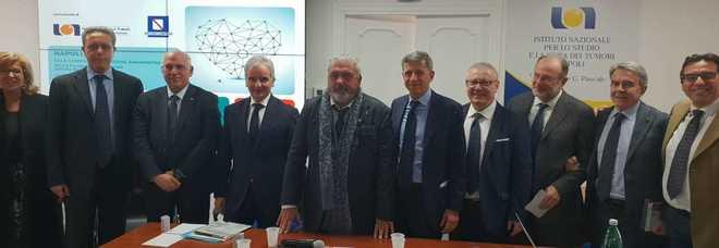 Manager e operatori degli istituti di ricerca sui tumori del Sud riuniti a Napoli