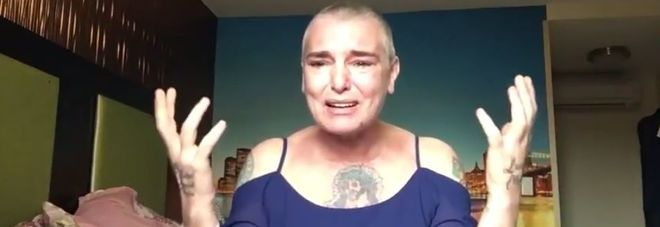 Sinead O'Connor, video choc su Fb.