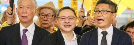 Protesta degli ombrelli a Hong Kong: a processo i leader del movimento