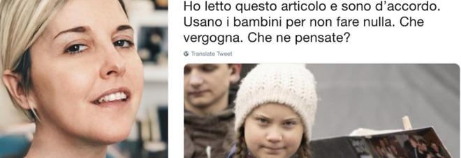 Nadia Toffa e Greta Thunberg: «Usano i bambini per non fare nulla. Che vergogna». Pioggia di insulti su Twitter