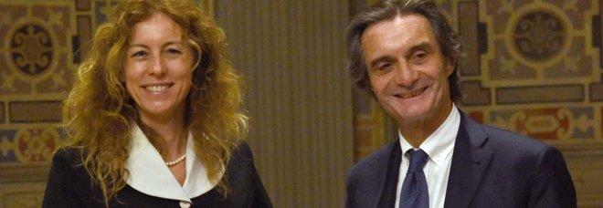Il ministro per gli Affari Regionali Erika  Stefani incontra il presidente della Regione Lombardia Attilio Fontana